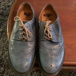 Men's Dr. Martens blue shoes